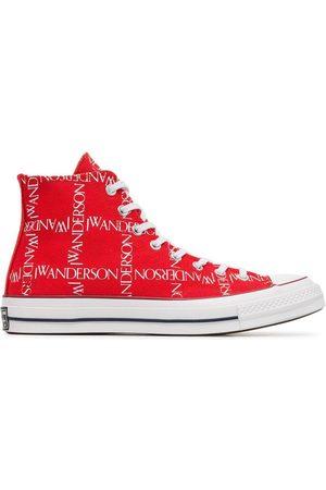 J.W.Anderson X Converse Logo Print Sneakers