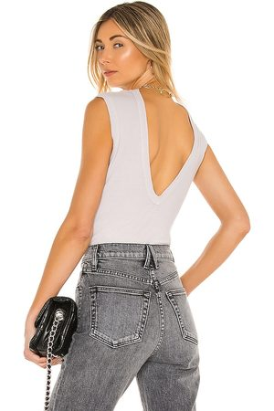 AGOLDE Sutton V Back Bodysuit in - . Size L (also in XS, S, M, XL).