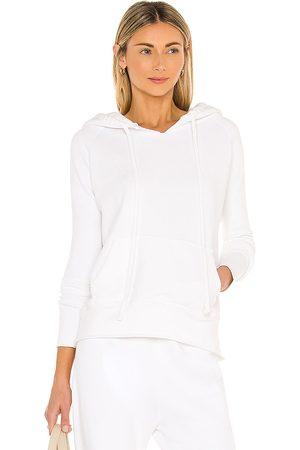 NILI LOTAN Janie Hoodie in - White. Size L (also in XS, S, M).