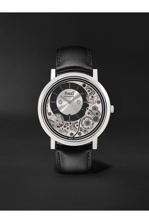 PIAGET Homem Relógios - Altiplano Ultimate Automatic 41mm 18-Karat White Gold and Leather Watch, Ref. No. G0B43121
