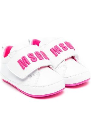 Msgm Bebé Ténis - Touch-strap logo sneakers