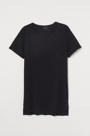 H&M Homem T-shirts & Manga Curta - T-shirt comprida
