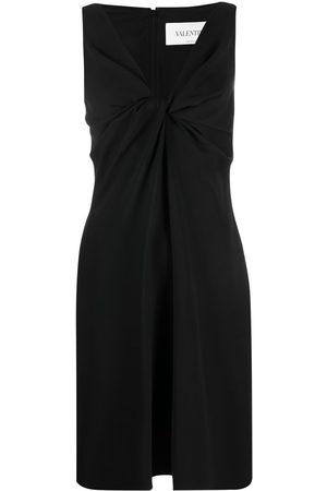 VALENTINO Twist-detail sleeveless dress