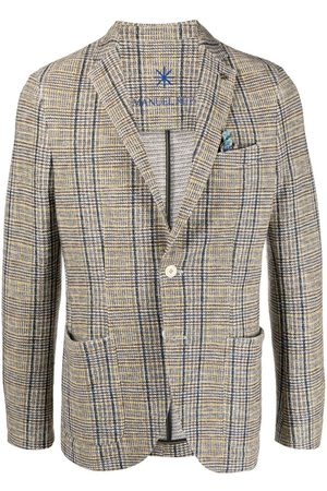 Manuel Ritz Homem Blazers - Jersey unlined blazer drop 8 fit