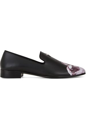 Giuseppe Zanotti Forever Bloom leather loafers