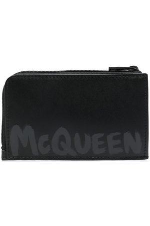 Alexander McQueen Homem Bolsas & Carteiras - Logo-print wallet