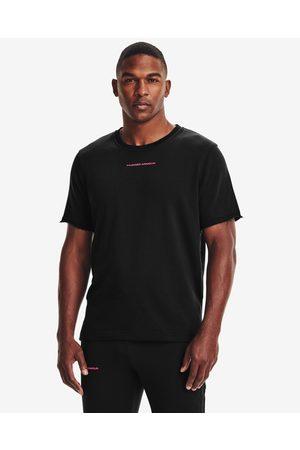Under Armour Homem T-shirts & Manga Curta - Rival Terry T-shirt Black