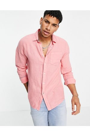 Pepe Jeans Addison long sleeve shirt-Red