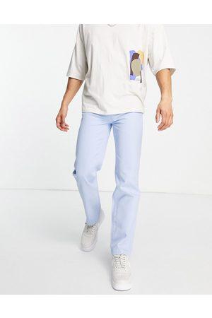 Mennace Homem Retos - Aftermath straight leg denim jeans in light blue