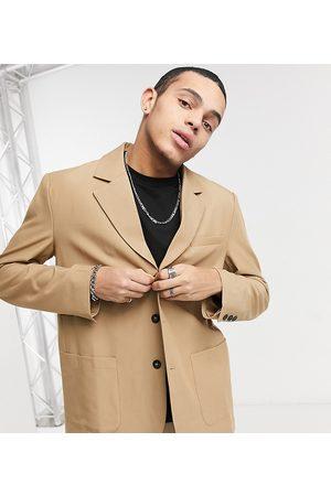 Reclaimed Vintage Homem Blazers - Inspired original fit blazer in beige-Neutral