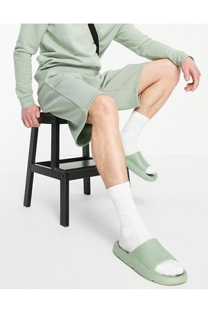 River Island Oversized shorts in mint-Blue