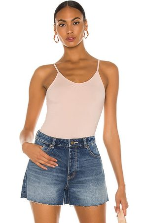 Rollas Practice Camisole in - Pink. Size 10/M (also in 8/S, 6/XS, 12/L, 14/XL).