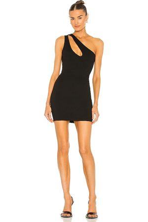 superdown Nava Asymmetrical Mini Dress in - . Size L (also in XXS, XS, S, M, XL).