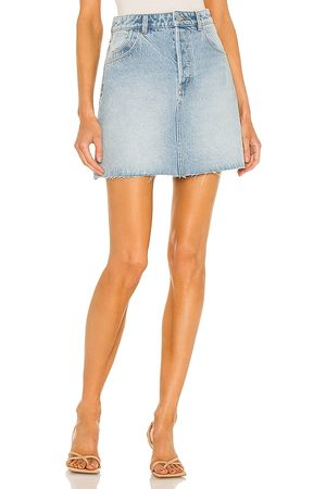 Rollas Classic Mini Skirt in - Blue. Size 23 (also in 26, 24, 25, 27, 28, 29, 30, 31).