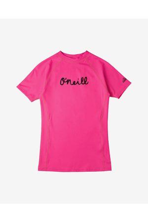 O'Neill Menina T-shirts & Manga Curta - Kids Swimming T-shirt Pink