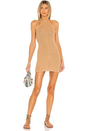 Lovers + Friends Equator Crochet Halter Dress in - . Size L (also in XS, S, M).