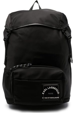 Karl Lagerfeld Homem Mochilas - Logo patch backpack