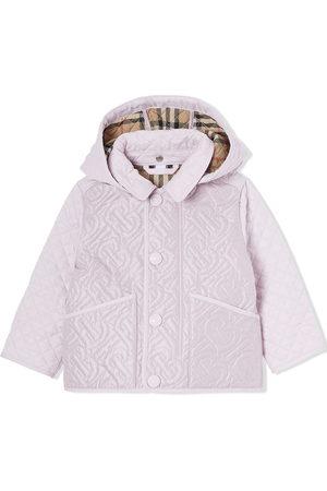Burberry Kids Menina Casacos de Inverno - Padded hooded coat