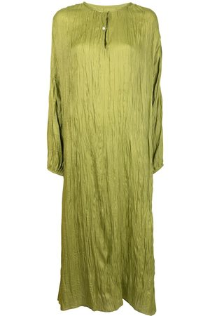 Bambah Alice crinkled-effect kaftan dress