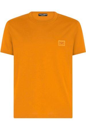 Dolce & Gabbana Logo-patch cotton T-shirt