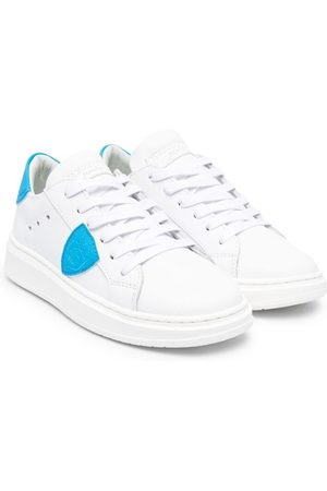 Philippe model Menino Ténis - Logo-patch low top sneakers