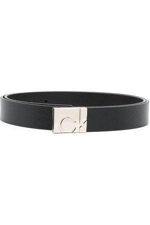 Calvin Klein Senhora Cintos - Square logo-buckle belt