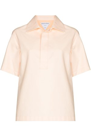 Bottega Veneta Short-sleeve cotton polo shirt