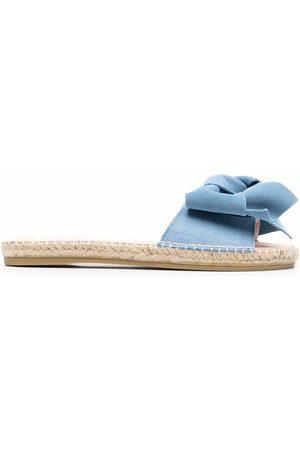 MANEBI Senhora Alpercatas - Hamptons knotted espadrille slides