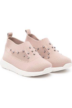 Babywalker Crystal-embellished slip-on sneakers