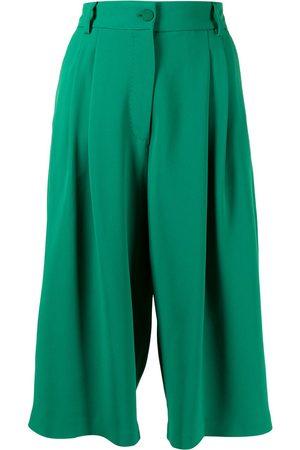 Dolce & Gabbana Senhora Calções - Knee-length Cady shorts