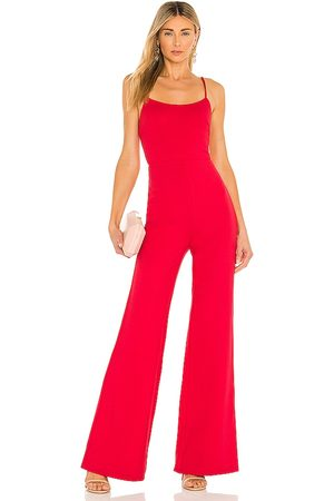 Lovers + Friends Lavinia Jumpsuit in - Red. Size L (also in XXS, XS, S, M, XL).