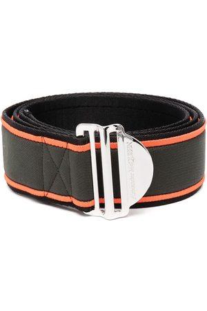 Alexander McQueen Homem Cintos - Logo buckle belt
