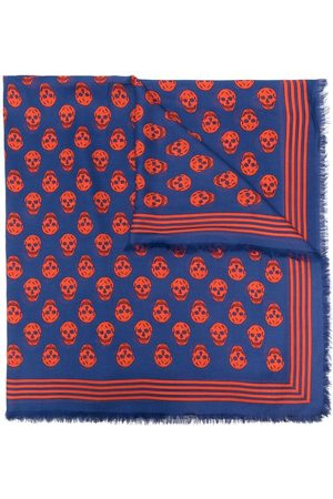 Alexander McQueen Homem Cachecóis & Echarpes - Skull-print scarf