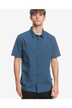 Quiksilver Taxer Wash Shirt Blue