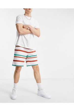 The Arcminute Arcminute co-ord jersey shorts in multi-Navy