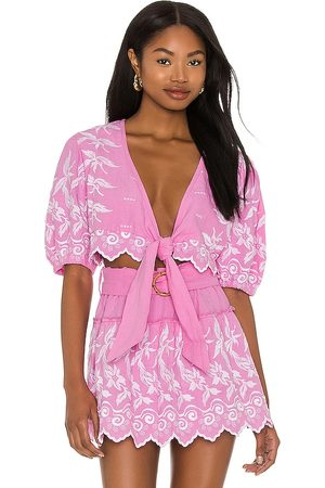 Place Nationale Zagne Top in - Pink. Size 1/S (also in 2/M, 3/L).