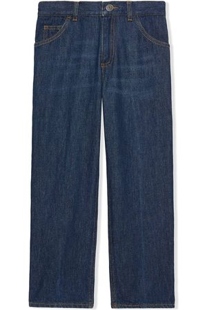 Gucci Menino Jeans - Freya Hartas-embroidered jeans