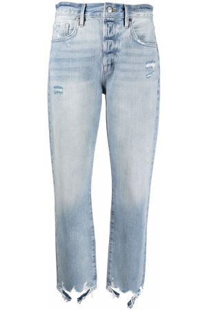 Frame Faded slim-cut jeans