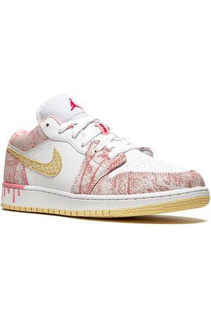 """Jordan Kids Air Jordan 1 Low """"Paint Drip"""" sneakers"""
