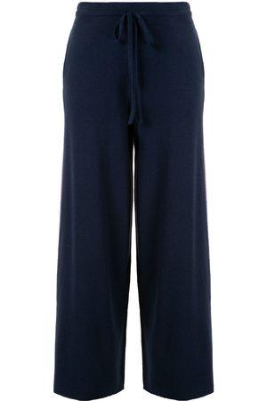 Onefifteen Stripe side wide leg trousers