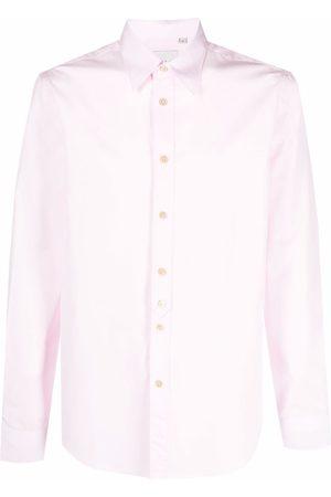 Paul Smith Homem Manga comprida - Long-sleeved cotton shirt