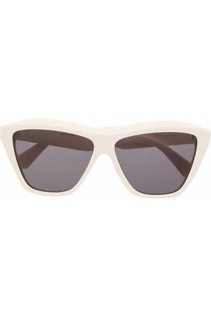 Bottega Veneta Homem Óculos de Sol - Square-frame sunglasses