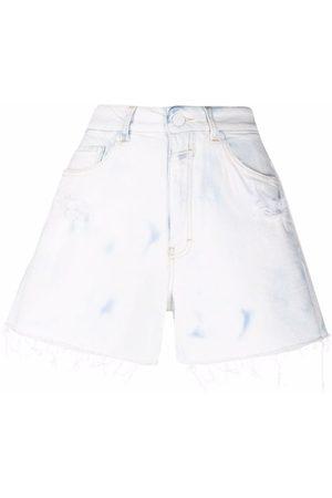 Closed Tie-dye print shorts