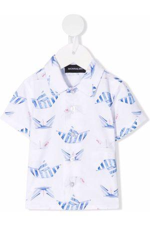 MONNALISA Graphic-print shirt