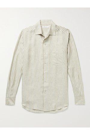 Loro Piana Striped Linen Shirt