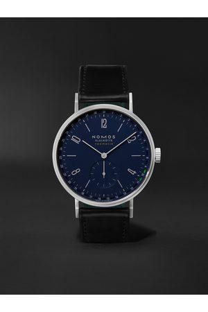 Nomos Glashütte Homem Relógios - Tangente Neomatik 41 Automatic 41mm Stainless Steel and Cordovan Leather Watch, Ref. No. 182