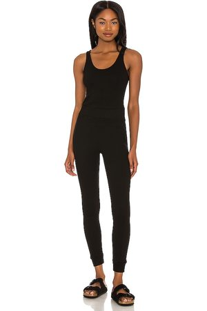 MONROW Sporty Tank Jumpsuit in - . Size L (also in XS, S, M).