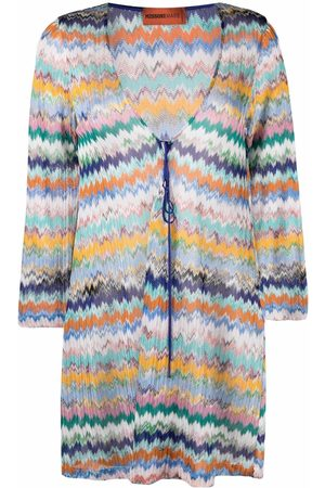 Missoni Zigzag-knit tunic dress