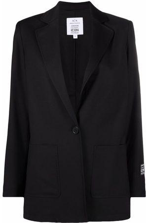 Armani Senhora Blazers - Single-buttoned tailored blazer