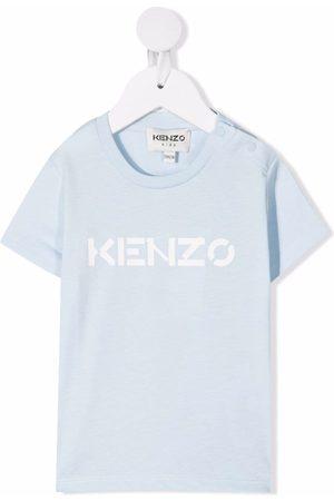 Kenzo Kids Logo-print cotton T-shirt